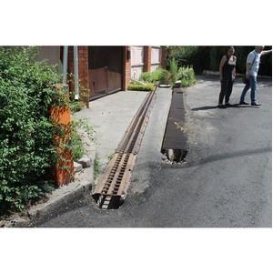 ОНФ просят власти Воронежа сделать ливневку на улице Кораблинова