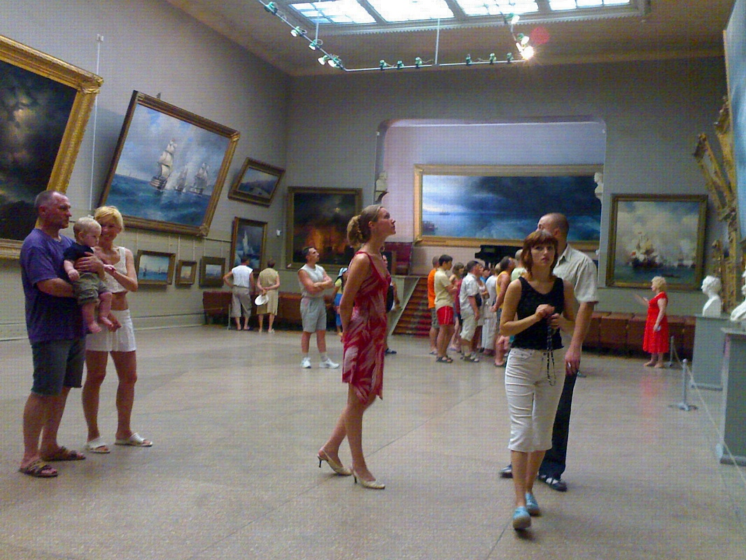 Галерея имени Айвазовского в Феодосии