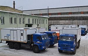 Спецтехника производства ООО «МПЗ» спешит на работу в ООО «Газпром трансгаз Ухта»