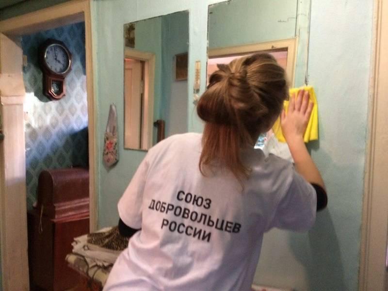 Команда «Молодежки ОНФ» провела в Мордовии акцию в рамках месячника пожилых людей