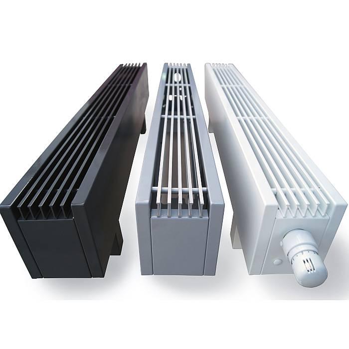 Конвекторы водяного отопления напольные