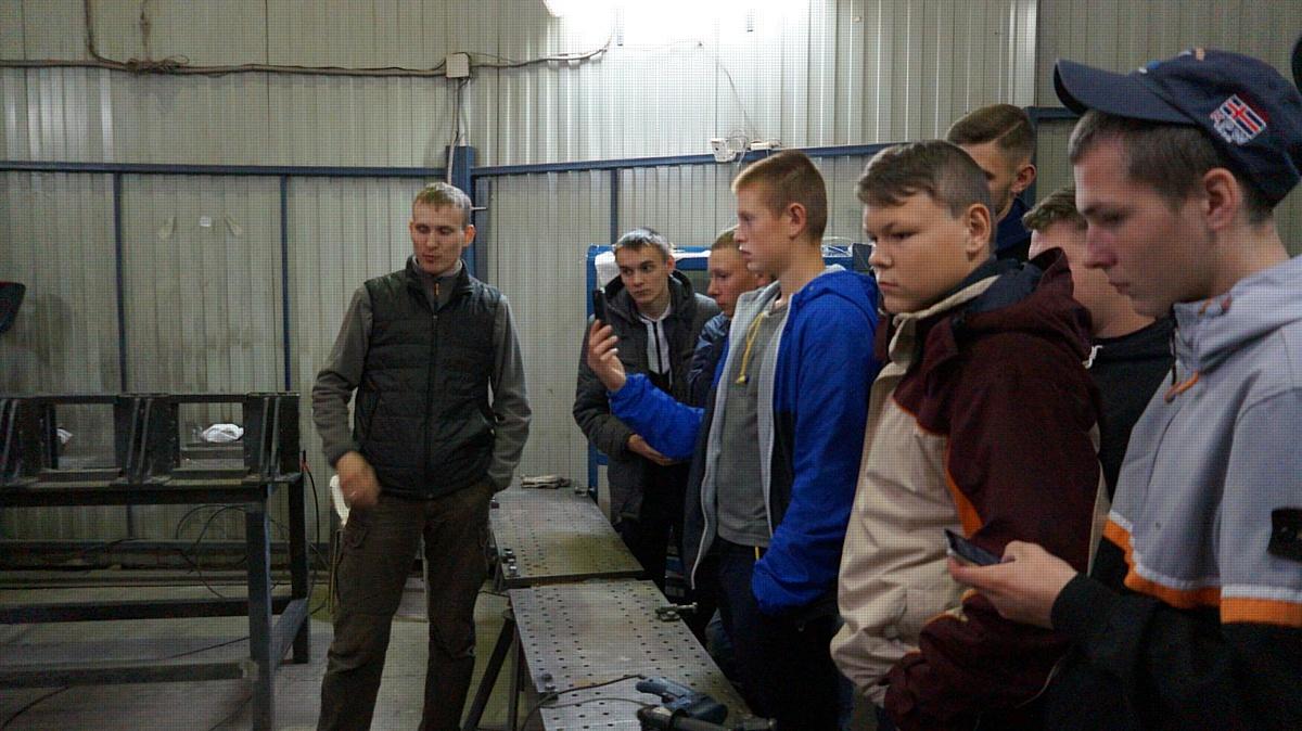 Студенты  второго курса Свердловского Политехникума на экскурсии в РЦЛТ
