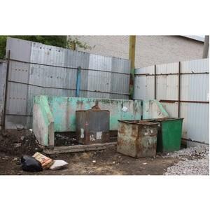 ОНФ просит убрать мусорные контейнеры от дома фронтовика в Воронеже
