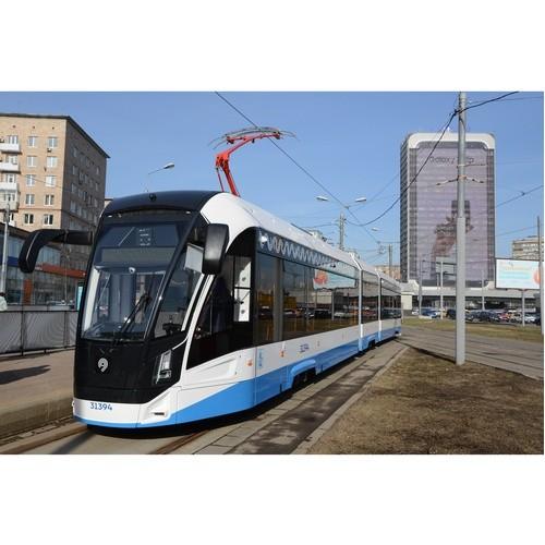 Модифицированные трамваи «Витязь-М» впервые - на северо-западе Москвы