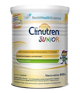 Clinutren Junior с улучшенной формулой для энтерального питания детей