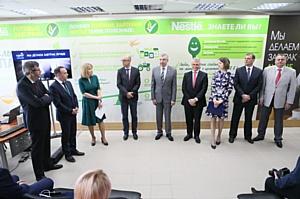 «Нестле» открыла новую линию по производству готовых завтраков на фабрике в Перми