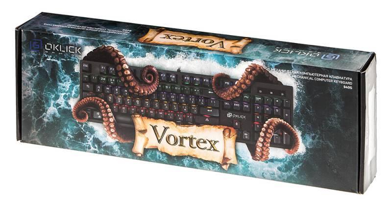 Oklick 940G Vortex – водоворот эмоций