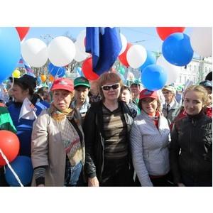 Первомай  в  столице  Урала
