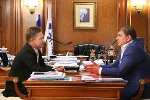 «Газпром» инвестирует в сферу строительства социальных объектов в Орловской области