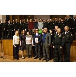 Космонавт Антон Шкаплеров встретился со студентами СевГУ
