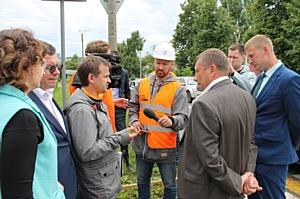 Эксперты ОНФ оценили дорожное ноу-хау в Саранске