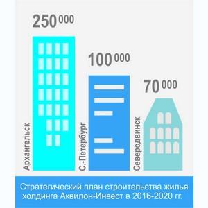 В ближайшие два года холдинг «Аквилон-инвест» планирует построить свыше 420 тыс. кв. м нового жилья