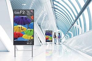 NEC MultiSync®X554HB – яркая новинка в модельном ряду дисплеев NEC