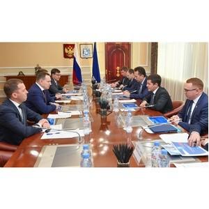 Генеральный директор «Россети Тюмень» встретился с губернатором ЯНАО