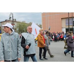 Активисты ОНФ приняли участие в праздничных мероприятиях, посвященных Великой Победе