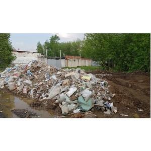 Московские активисты ОНФ добились ликвидации двух свалок со строительным мусором в Солнцево