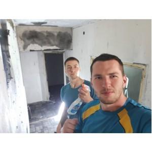 «Молодёжка ОНФ» помогла отремонтировать квартиру после пожара