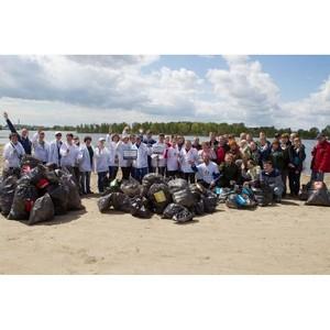 Во Всемирный день охраны окружающей среды участники акции «Семь рек» собрали много мусора
