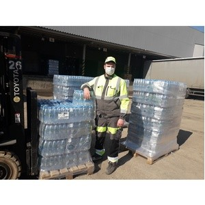 «Балтика-Самара» предоставила воду для врачей и больных на карантине