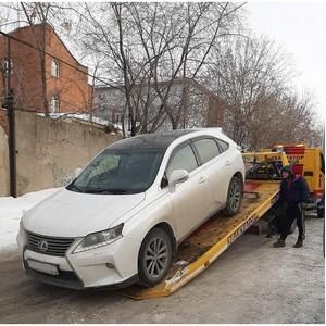 Найден и арестован Lexus в счет погашения долга по налогам