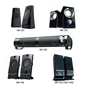 Компактные акустические системы Oklick – расширение ассортимента бренда