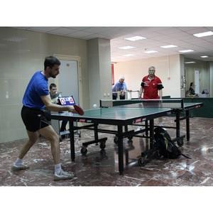 Энергетики Кузбасса встретились за теннисным столом