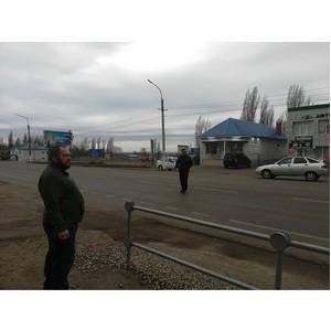 Воронежский ОНФ просит перенести пешеходный переход в Новой Усмани