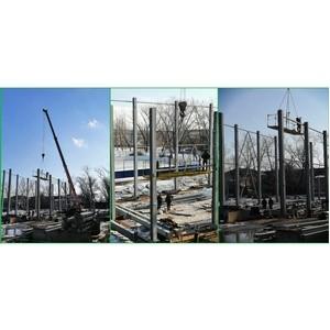 ОНФ помог добиться строительства спортзала Елань-Коленовской школы