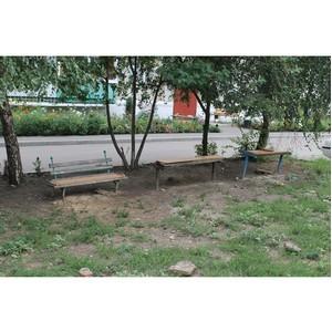 ОНФ призвал администрацию Семилук исправить недостатки прошлогоднего ремонта дворов