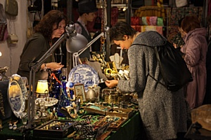 """Антикварные выходные. Популярный Антикварный маркет """"Блошинка"""" пройдет 4-5 ноября в центре Москвы."""