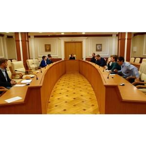Перовое заседание комитета молодежного парламента Свердловской области