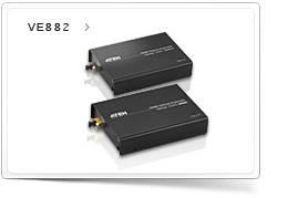 HDMI удлинители VE882 и VE892 распространяют HD видео до 20 км по оптоволокну