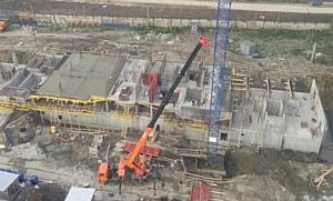 На строительстве ЖК «4you» холдинг «Аквилон-Инвест» использует самую современную технику