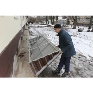 ОНФ просит власти исправить недостатки капремонта воронежских домов