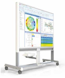 Projecta Interactive Dry-Erase Cart: интерактивная мобильная стойка с функцией маркерной доски