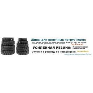 Шины для вилочного погрузчика от официального дилера с доставкой по РФ