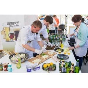 Уникальный образовательный проект «Пивной сомелье» с кулинарным шоу