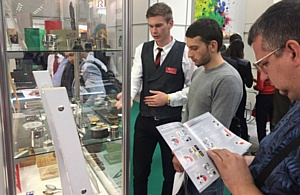 На выставке Printech-2017 представлена технологии 3d высокоточной лазерной гравировки на металле