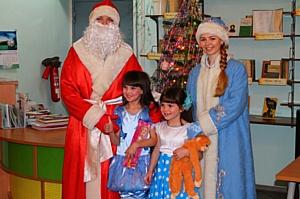 Добровольцы Верхней Салды подарили детям праздник