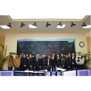 Будущие энергетики посетили объекты филиала «Чувашэнерго»
