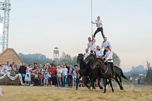 Воронежский филиал «Евроцемент груп» выступил партнером фестиваля «Казачье братство»