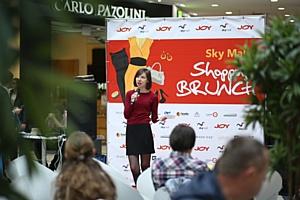 В выходные состоялся третий Sky Mall Shopping Brunch