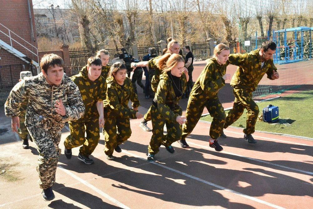 Военно-спортивная игра «Отчизна» среди работающей молодежи Свердловской области