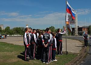 Около тысячи студентов приняли участие в военно-патриотических спортивных играх на стадионе «Динамо»
