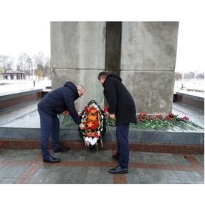 Сотрудники Тверьэнерго почтили память освободителей Калинина