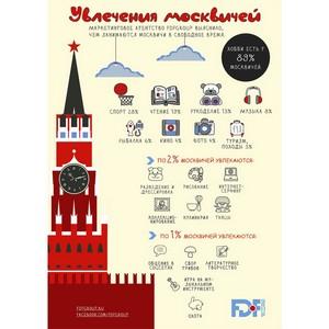Увлечения москвичей
