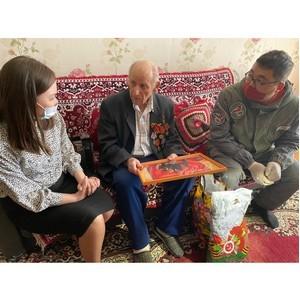 ОНФ в Туве исполнил мечту ветерана Великой Отечественной войны