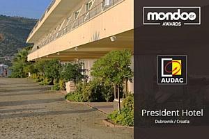 Audac номинирован на премию Mondo*dr