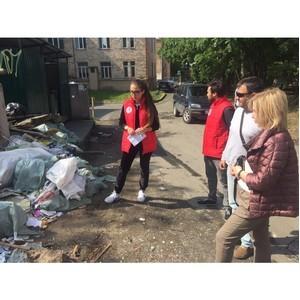 Участники «Молодежки ОНФ» призвали власти Петрозаводска следить за содержанием контейнерных площадок