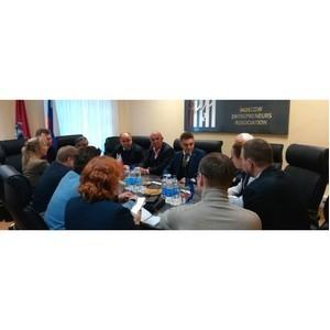 Рабочая встреча представителей МОО